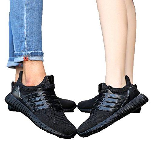 Primavera Y Otoño Sra CHT Salvajes Ocasionales De Los Deportes Zapatos De Los Amantes Black