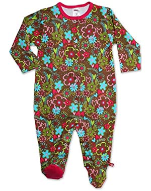 Baby Girls' Sugar Bramble Footie