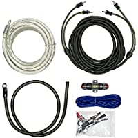 Raptor R5AK4 PRO SERIES - 1500W 4 AWG Amp Kit with RCA Cable