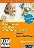 Einfach besser in Deutsch: Grammatik 5. Klasse