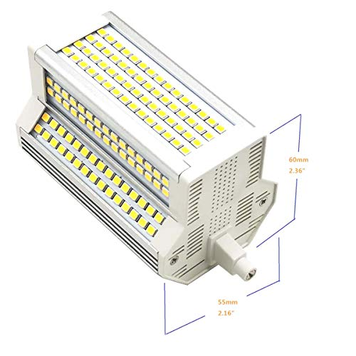 R7S LED-Lampe 50W Licht Dimmbar 6000k Kaltes Weiß Double Ended J118 J Typ 118 mm 4.64