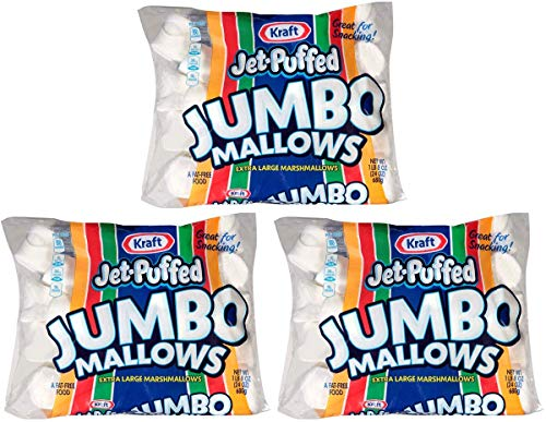 Jet-Puffed FRCDLJHV Jumbo Marshmallows, 3 Packs of 8 (24 Ounce/Bag) by Jet-Puffed (Image #3)