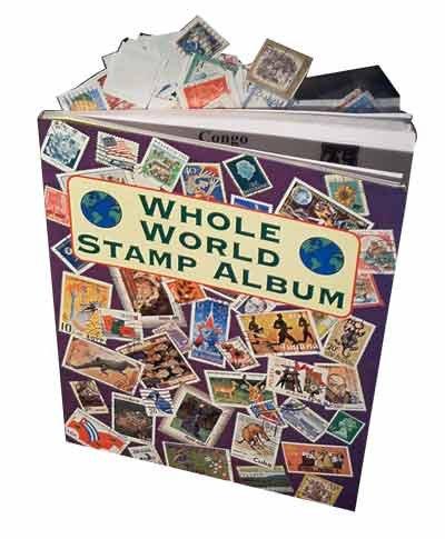 Loftus International Magic Stamp Album Novelty Item by Loftus International