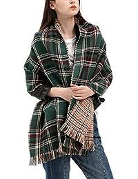 Urban CoCo Women Winter Warm Blanket Scarf Shawl Wrap (Series 3 green)