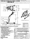 Vestil HDC-305-72 Hydraulic Drum
