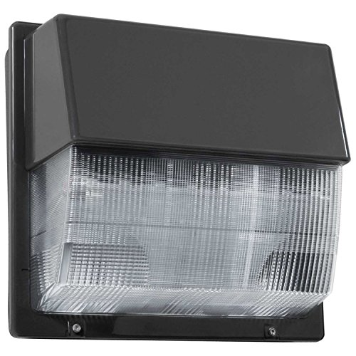 Lithonia Lighting TWP LED 10C 50K 26W 5000K LED Wallpack with Polycarbonate Lens, Bronze by Lithonia Lighting