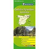 Östliche Pyrenäen (Michelin Zoomkarte)