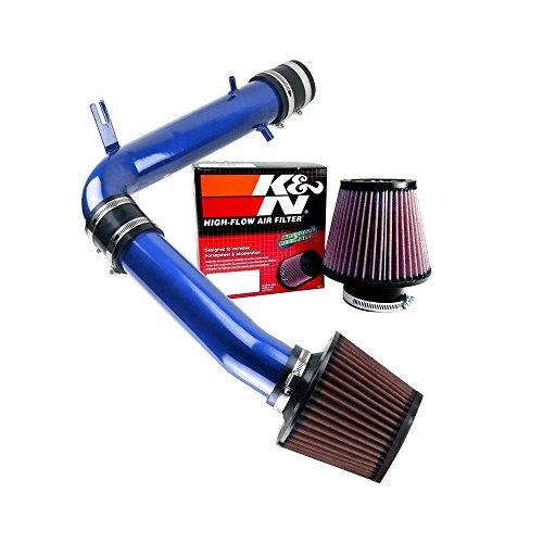 K&N Air Filter + Spyder Cold Air Intake (Blue) - 01- 03 Acura CL 3.2 3.2L V6 Base Model SPYDER-416-B/RU-4450