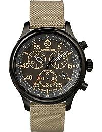 Men's TW4B10200 Expedition Field Chronograph Tan/Black Nylon Strap Watch