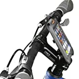 Ibera Bicycle iPhone Case with Stem Mount, 4-Inch, Black