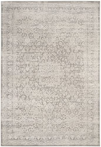 Safavieh Princeton Collection PRN712G Vintage Grey and Beige Distressed Area Rug 9 x 12
