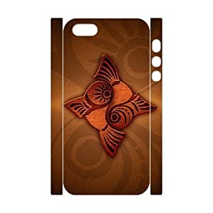 3D Woodcut fish For Ipod Touch 4 Phone Case Cover White