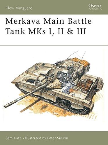 Merkava Main Battle Tank MKs I, II & III (New Vanguard) ()
