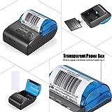Aibecy 58mm Thermal Receipt Printer Portable Mini