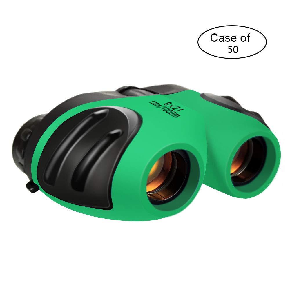 SOKY 50個入りケース ハンティング用コンパクト子供用双眼鏡