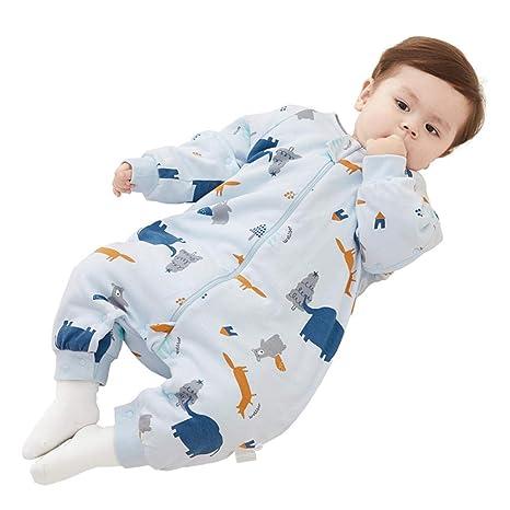 Saco de dormir para bebé con piernas divididas, pijama para ...