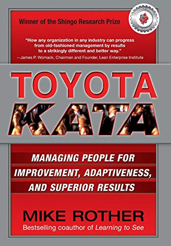 Pdf Money Toyota Kata: Managing People for Improvement, Adaptiveness and Superior Results