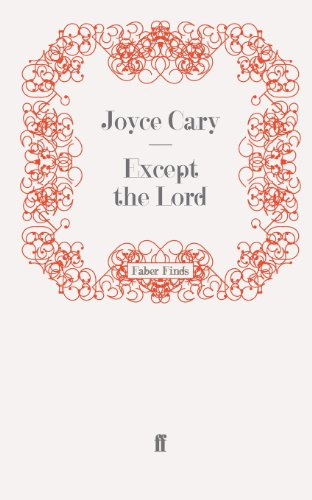 book cover of Except the Lord