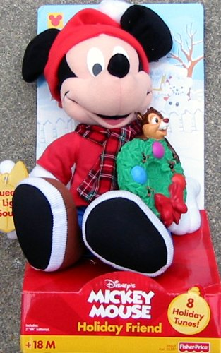 Mickey Mouse Holiday Friend