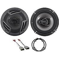 Rockville 6.5 Factory Door Speaker Replacement Kit For 2001-2005 Honda Civic