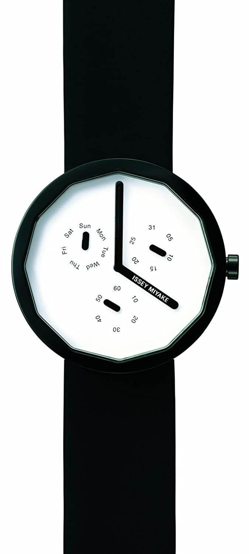 Issey Miyake Unisex-Armbanduhr Analog weiss IM-SILAP008