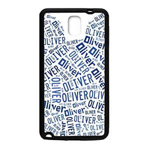 Oliver Lovely blue bear head Cell Phone Case for Samsung Galaxy Note3