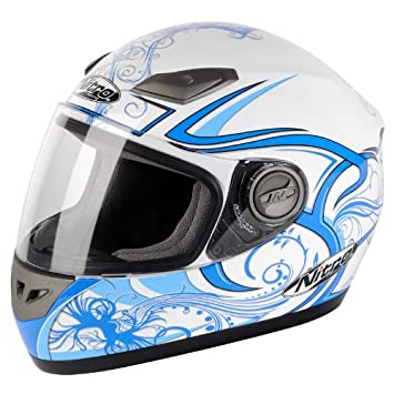 Nitro dinamo Junior casco de moto, azul: Amazon.es: Deportes ...