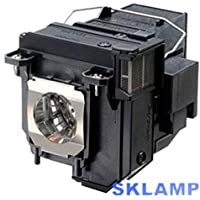 Sklamp ELP80 / V13H010L80 Compatible Lamp with Housing for EPSON EB-580 EB-585W EB-595Wi BrightLink Pro 1430Wi 1420Wi585Wi 595Wi 580 Projectors