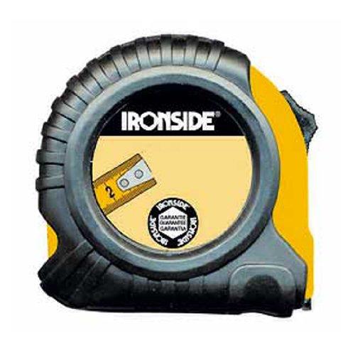 Ironside M261505 - Flexometro abs caucho con freno 8mx25mm 150213