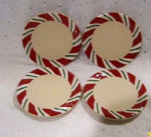 Longaberger Peppermint Twist Set of 4 Coasters