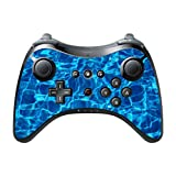 Water Swimming Pool Blue Wii U Pro Controller Vinyl Decal Sticker Skin by Moonlight Printing
