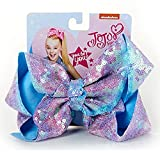 Jojo Siwa Signature Hair Bow Sparkle Pink Blue Pastel Ombre