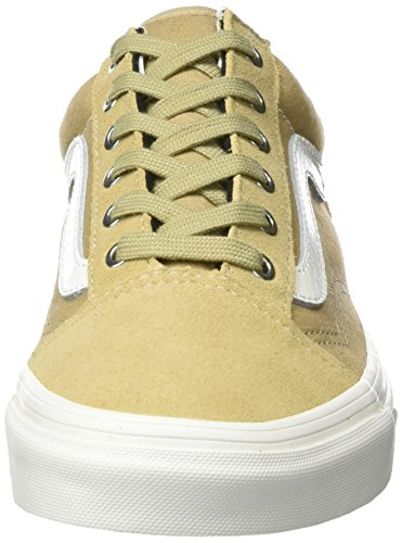 Vans Old Skool Mens Sneakers Tan Kaki / Blanc Snake