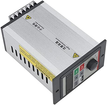 VFD Small Frequency Inverter 0.75KW Single Phase 220V LED Display Micro Frequency Converter PAM Control Built-in High Speed Cooling Fan