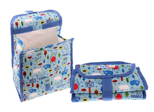 packit-freezable-reusable-lunch-bag-with-velcro-closure-blue-bears