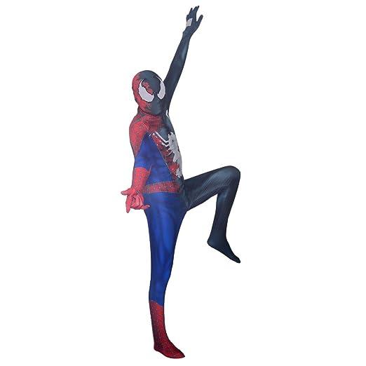 BLOIBFS Disfraz Infantil De Spiderman,Carnaval Venom Superhéroe ...