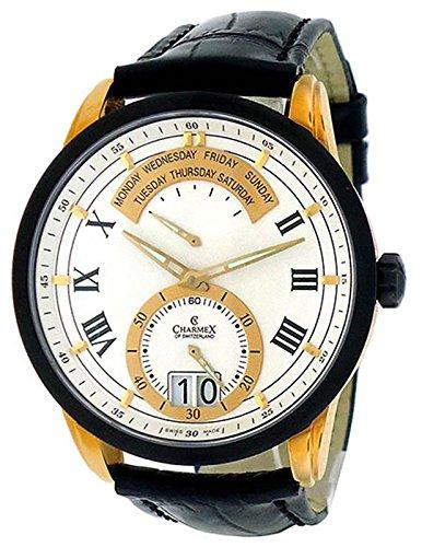 Charmex Men's 2145 Zermatt Retrograde Big Date Calendar Watch