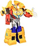 Transformers Toys Cyberverse Spark Armor Ark Power Optimus Prime Action Figure - Combines with Ark Power Vehicle to Power Up - for Kids Ages 6 & Up, 12'