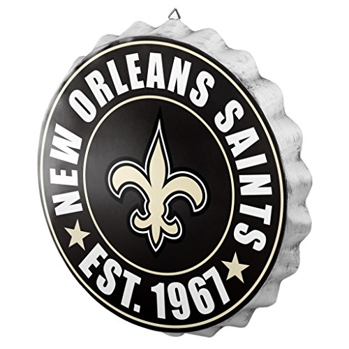 New Orleans Saints 2016 Bottle Cap Wall -