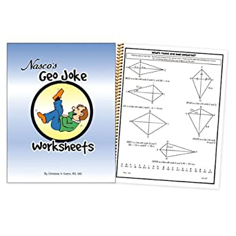 Amazon.com: Nasco TB20658T Geo Joke Worksheets, 64-Page Book ...
