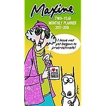 TF PUBLISHING 2017-2018 Maxine 2 Year Pocket Calendar