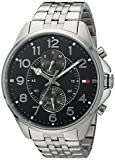 Tommy Hilfiger Men's Quartz Stainless Steel Casual Watch, Color:Silver-Toned (Model: 1791276)