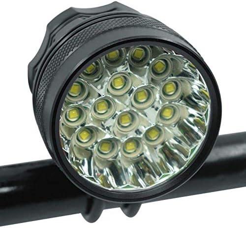 アップグレード防水LED自転車ライトフロントヘッドライトライディングサイクリングバイクフロントライトアウトドアナイトライディングバイクアクセサリー
