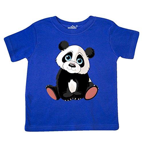 inktastic - Panda Bear Toddler T-Shirt 4T Royal Blue e9e8