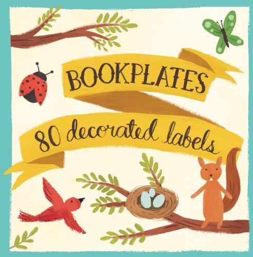 Forest Friends Bookplates (Book of Labels)