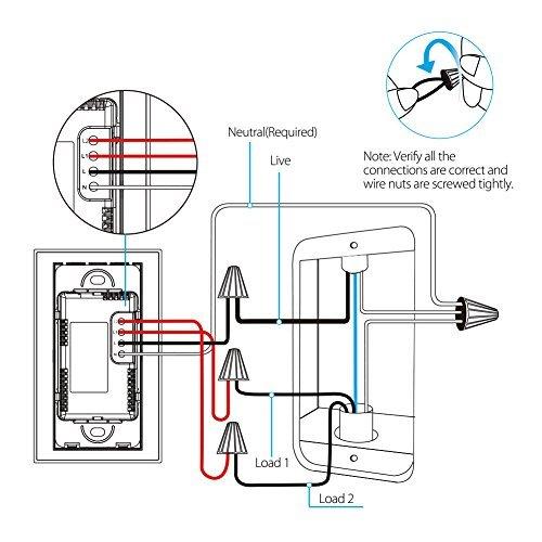 Koogeek Smart 2-Gang WiFi Light Switch by Koogeek (Image #1)
