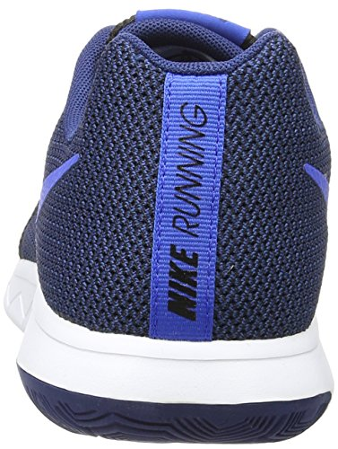 Nike 844514-006, Zapatillas de Trail Running para Hombre Negro (Black / Hyper Cobalt / Coastal Blue / White)