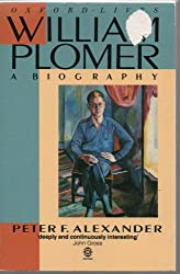 William Plomer: A Biography (Oxford lives)