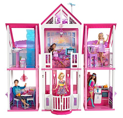 buona vendita stili di moda preordine Barbie W3141 La casa di Malibu: Amazon.it: Giochi e giocattoli