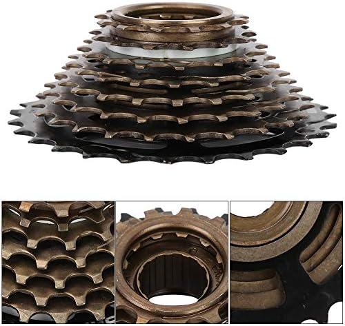 自転車8速カセットマウンテンロードバイクフリーホイールコグスプロケットフライホイールメタルスレッドスプロケット自転車部品アクセサリー